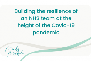 resilience of NHS team